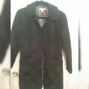 COLDWATER CREEK Black Coat - Size S